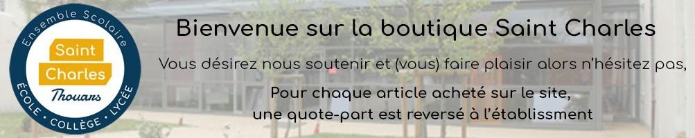 Lycée Saint Charles Thouars vêtements personnalisés