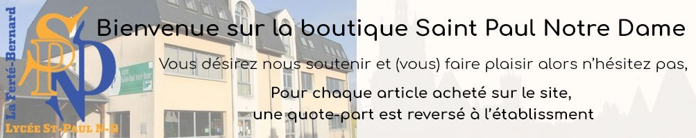 Lycée Saint Paul Notre Dame La Ferté Bernard vêtements personnalisés
