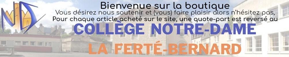 Collège NOTRE DAME LA FERTE BERNARD vêtements personnalisés