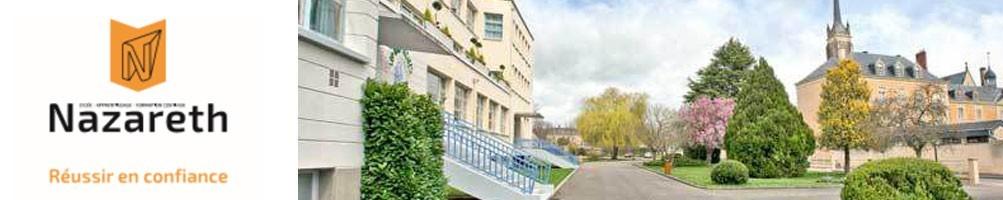 Lycée Nazareth Ruillé sur le Loir vêtements personnalisés