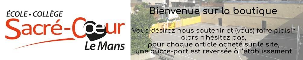 Collège Sacré Coeur Le Mans vêtements personnalisés
