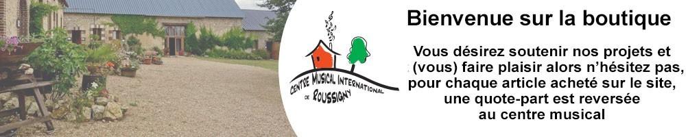 Centre Musical International Roussigny vêtements personnalisés