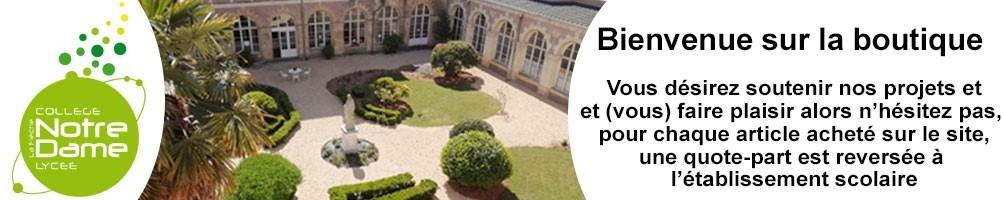 Lycée Notre Dame La Flèche vêtements personnalisés