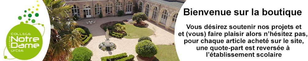 Collège Notre Dame La Flèche vêtements personnalisés