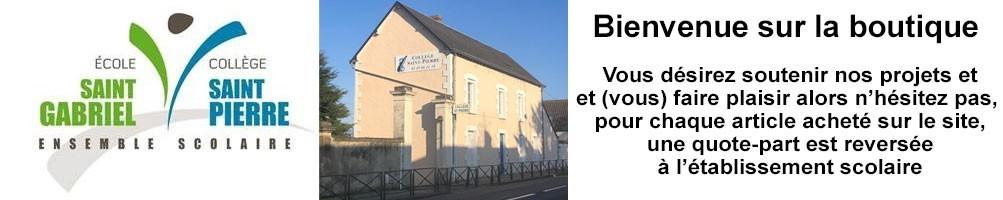 Collège Sant Pierre Dangé St Romain vêtements personnalisés